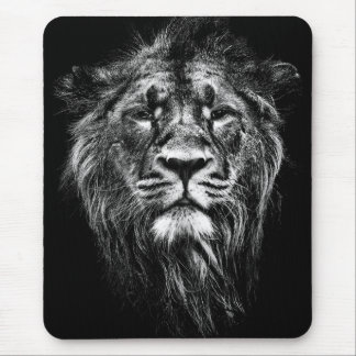 male asiatic lion mouse pad
