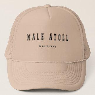 Male Atoll Maldives Trucker Hat
