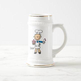 Male Baker Coffee Mug