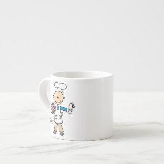 Male Baker Espresso Cup