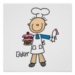 Male Baker Posters
