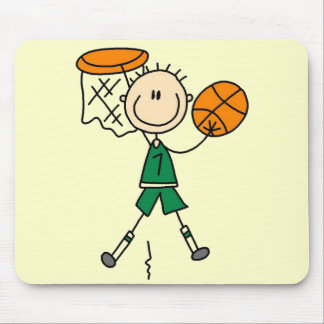 Male Basketball Player Tshirts and Gifts Mouse Pad