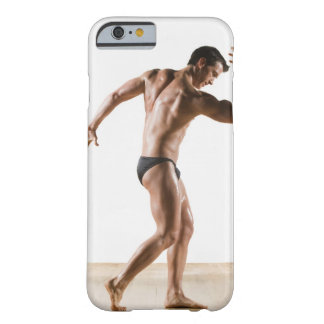 Male body builder flexing and posing 2 barely there iPhone 6 case
