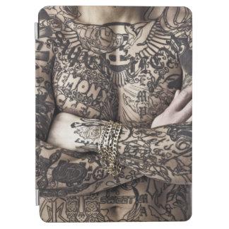 Male Body Tattoo Photograph iPad Air Cover