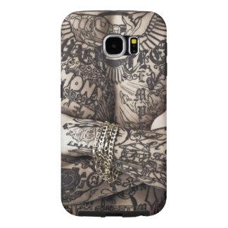 Male Body Tattoo Photograph Samsung Galaxy S6 Case