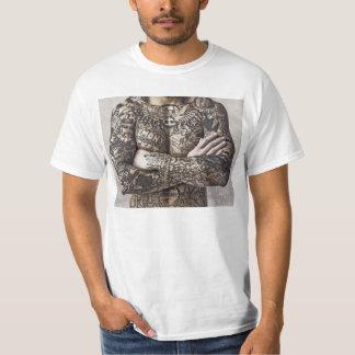 Male Body Tattoo Photograph T-Shirt