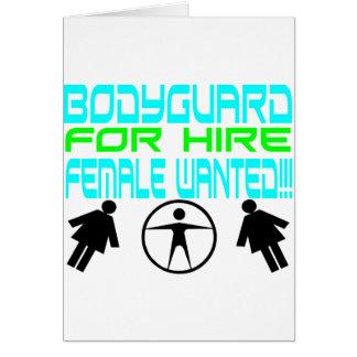 Male Bodyguard Cards