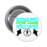 Male Bodyguard Pins