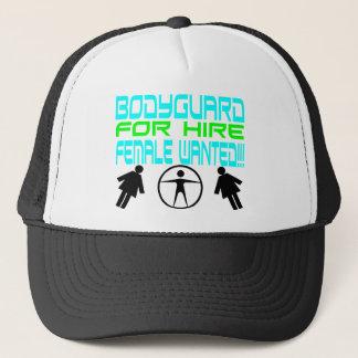Male Bodyguard Trucker Hat