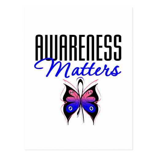 Male Breast Cancer Awareness Matters Post Card