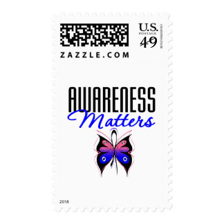 Male Breast Cancer Awareness Matters Stamp