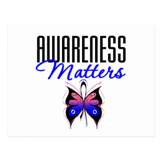 Male Breast Cancer Awareness Matters Postcard