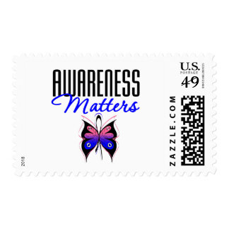 Male Breast Cancer Awareness Matters Stamps