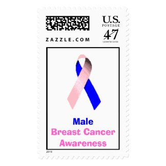 Male Breast Cancer Awareness Stamp