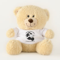Male Breast Cancer Awareness Teddy Bear
