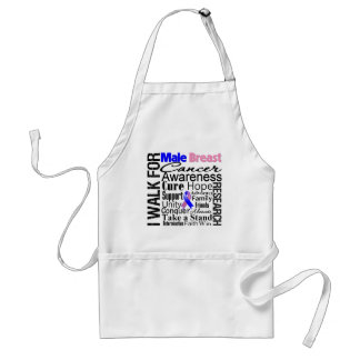 Male Breast Cancer Awareness Walk Apron