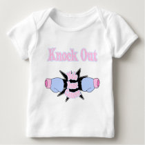 Male Breast Cancer Baby T-Shirt