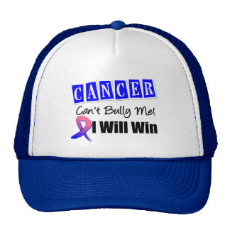 Male Breast Cancer Cant Bully Me I Will Win Trucker Hat