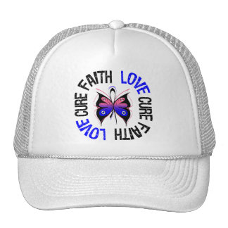 Male Breast Cancer Faith Love Cure Mesh Hat