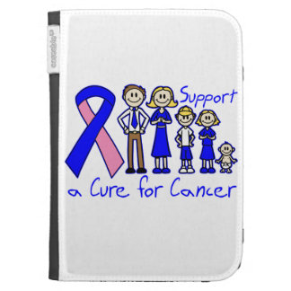 Male Breast Cancer Family Support A Cure Kindle Keyboard Case