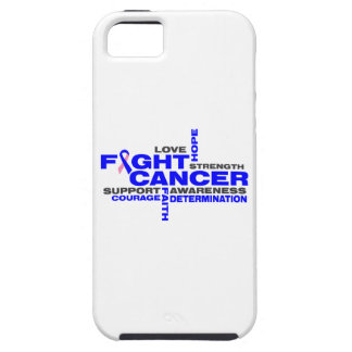 Male Breast Cancer Fight Collage iPhone 5 Cases