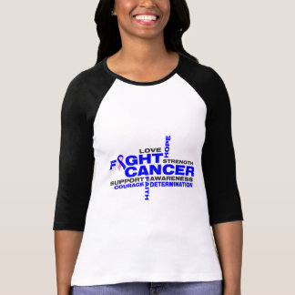Male Breast Cancer Fight Collage Tees