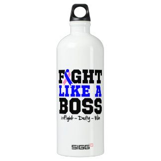 Male Breast Cancer Fight Like a Boss SIGG Traveler 1.0L Water Bottle
