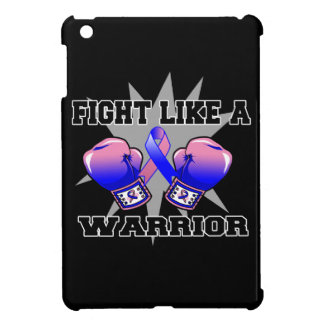 Male Breast Cancer Fight Like a Warrior Cover For The iPad Mini