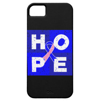 Male Breast Cancer HOPE Cube iPhone 5 Cover