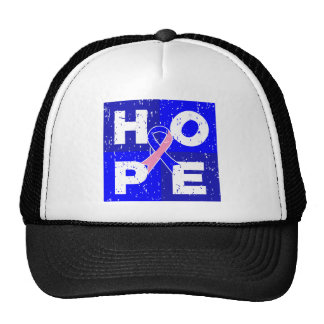 Male Breast Cancer HOPE Cube Hat