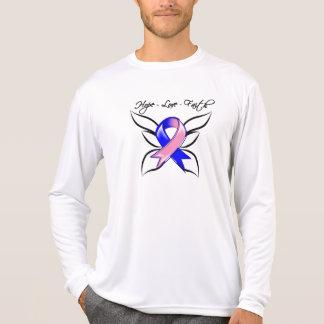 Male Breast Cancer Hope Love Faith Tshirts