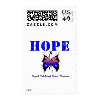Male Breast Cancer HOPE Postage