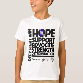 Male Breast Cancer Hope Support Advocate T-Shirt