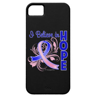 Male Breast Cancer I Believe in Hope iPhone 5 Case