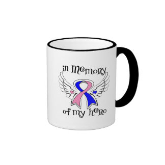 Male Breast Cancer In Memory of My Hero Coffee Mug