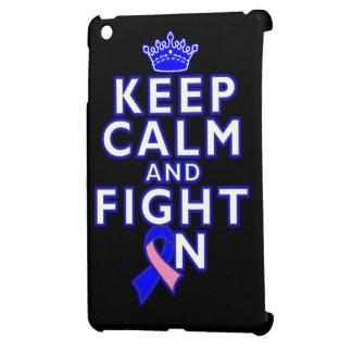 Male Breast Cancer Keep Calm Fight On iPad Mini Covers