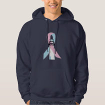 Male Breast Cancer Lighthouse of Hope Hoodie