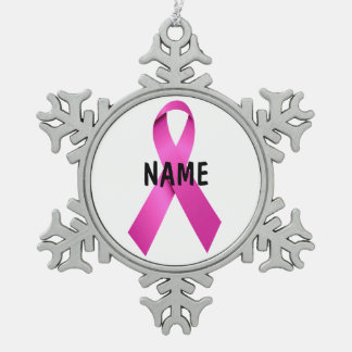 Male Breast Cancer Memorial Ornament