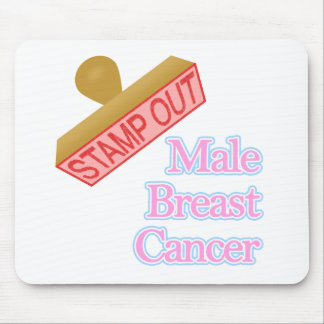 Male Breast Cancer Mouse Pad