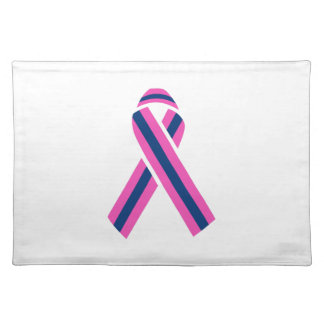 MALE BREAST CANCER CLOTH PLACE MAT