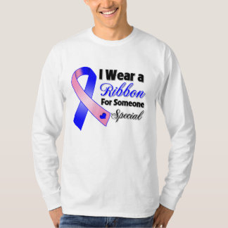 Male Breast Cancer Ribbon Someone Special T-shirt