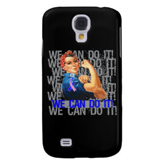 Male Breast Cancer Rosie WE CAN DO IT Galaxy S4 Covers