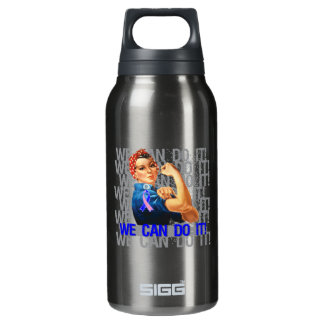 Male Breast Cancer Rosie WE CAN DO IT SIGG Thermo 0.3L Insulated Bottle