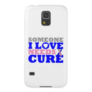 Male Breast Cancer Someone I Love Needs A Cure Case For Galaxy S5