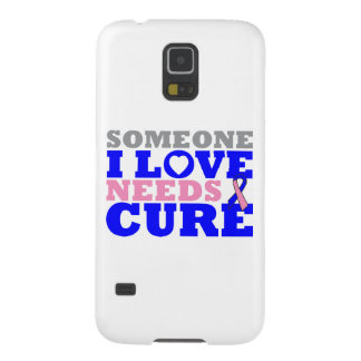 Male Breast Cancer Someone I Love Needs A Cure Galaxy S5 Cases