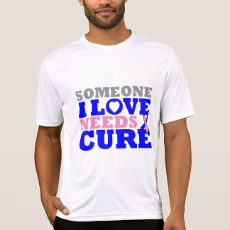 Male Breast Cancer Someone I Love Needs A Cure T-shirt