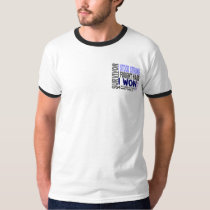 Male Breast Cancer Survivor 4 T-Shirt