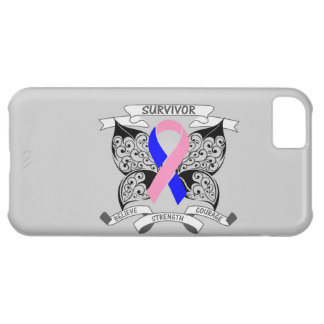 Male Breast Cancer Survivor Butterfly Strength iPhone 5C Case