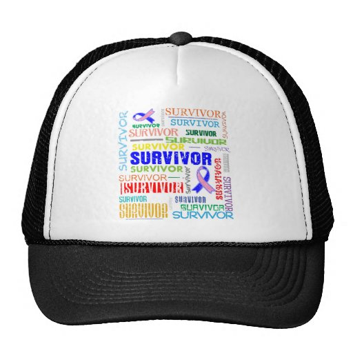 Male Breast Cancer Survivor Collage.png Hats