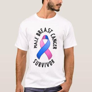 Male Breast Cancer Survivor Light Shirt